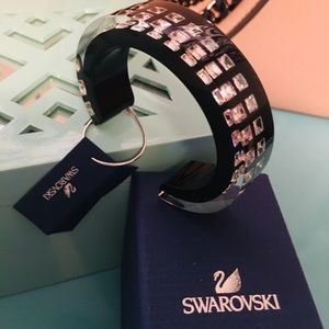 Swarovski Bangle Resin Bracelet NIB/WT